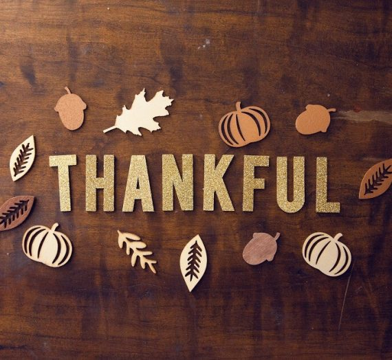 What are you really thankful for?